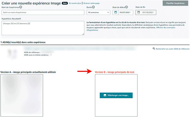 Nouvelle fonction pour les marques sur Amazon Seller, expériences, fonction d'a/b testing par GDMarket